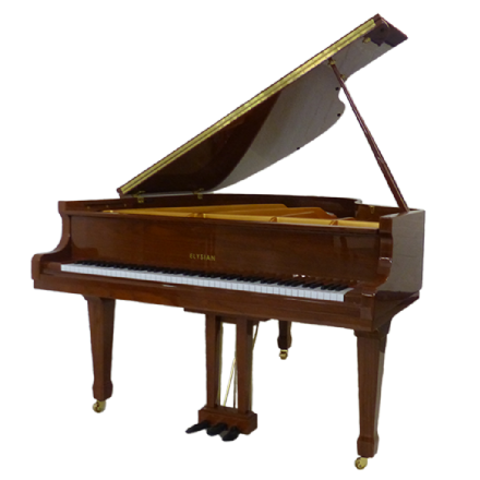 Elysian 160cm Grand Piano Walnut NEW